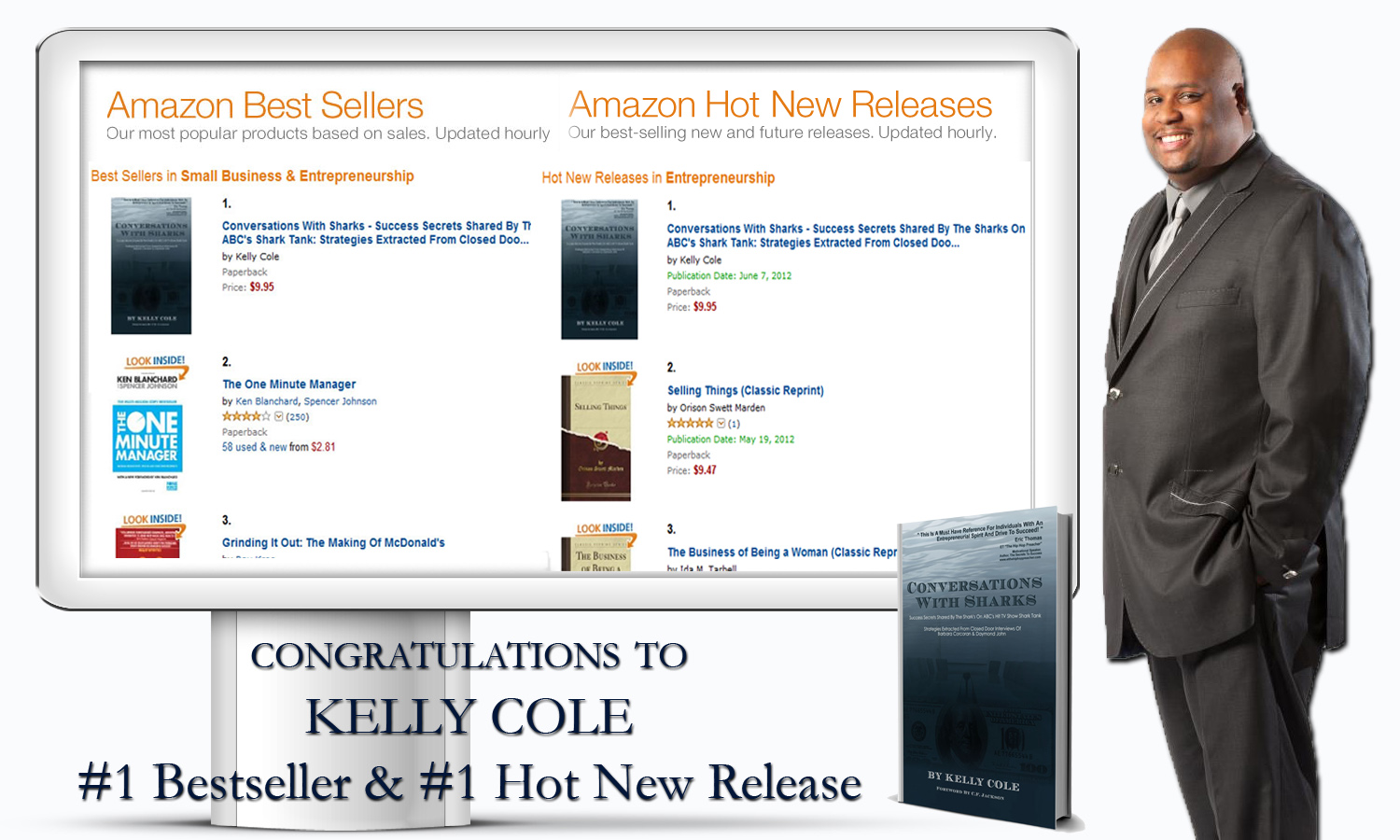 Prime Time Marketing Ceo Kelly Cole's Book Hits #1 On Amazon Best Sellers List