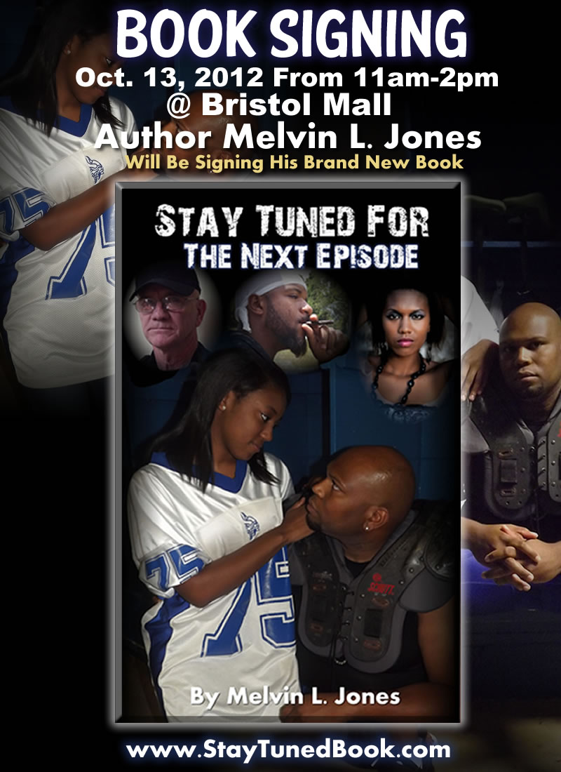 New Author Melvin Johnson - Book Signing Oct. 13, 2012