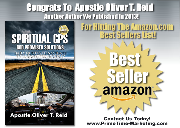 Congrats To Apostle Oliver T Reid For Hitting The Amazon Best Sellers List